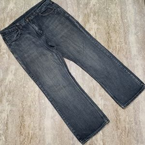 FLYPAPER MENS RUSTIC COTTON JEANS SIZE 34X30